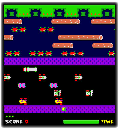 GAME: Frogger (Classic Arcade)