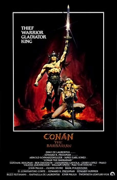 RETRO AD: Conan the Barbarian (1982)