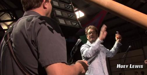 "WEBTV: Huey Lewis on ""Jeff Waful +1″ (Part 1)"