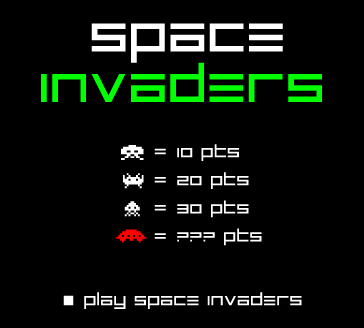 GAME: Space Invaders (Classic Arcade)