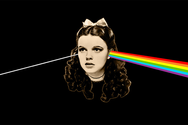The Dark Side of the Rainbow (The Wizard of Oz/Pink Floyd Mash-up)
