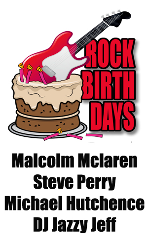 Rock Birthdays – January 22