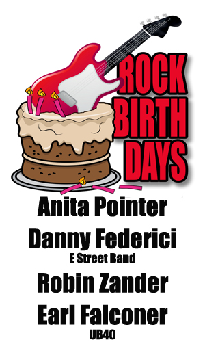 Rock Birthdays – January 23