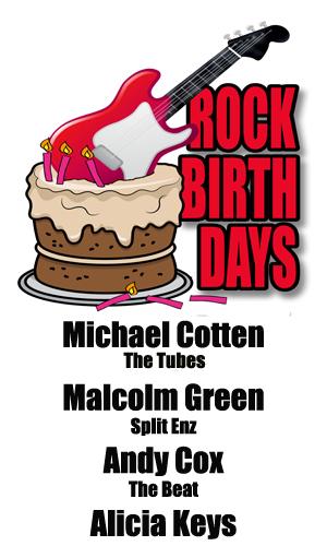 Rock Birthdays – January 25