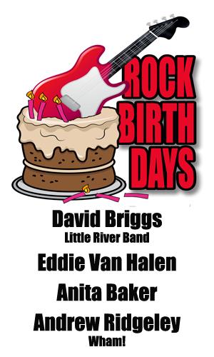 Rock Birthdays – January 26