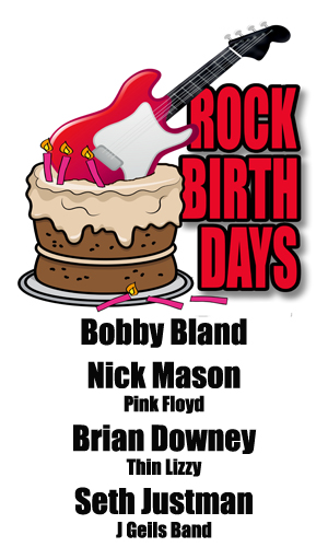 Rock Birthdays – January 27