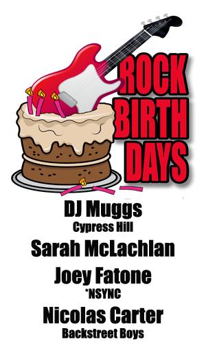 Rock Birthdays – January 28