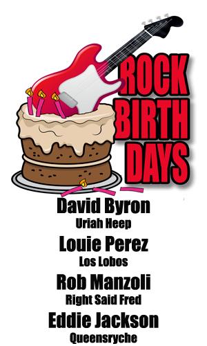 Rock Birthdays – January 29