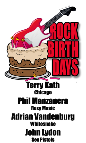 Rock Birthdays – January 31