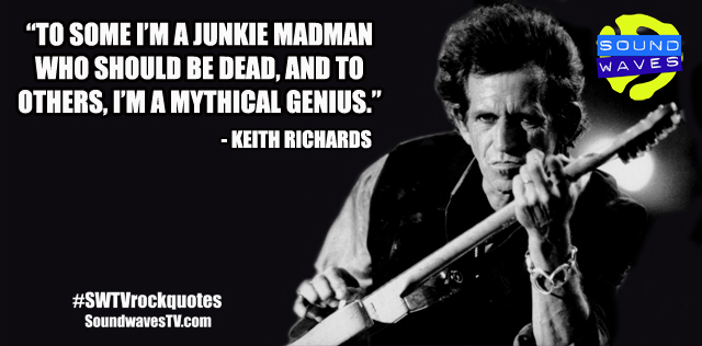 Rock Quotes: Keith Richards