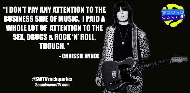 Rock Quotes: Chrissie Hynde