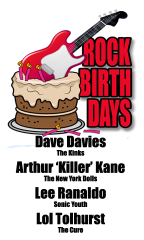 Rock Birthdays – February 3