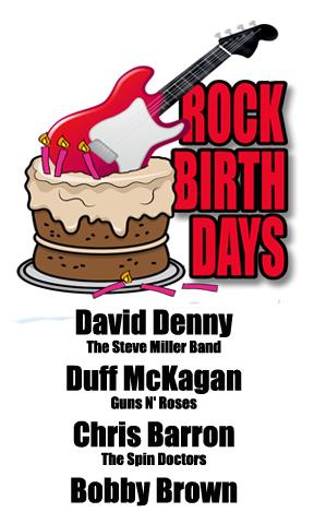 Rock Birthdays – February 5