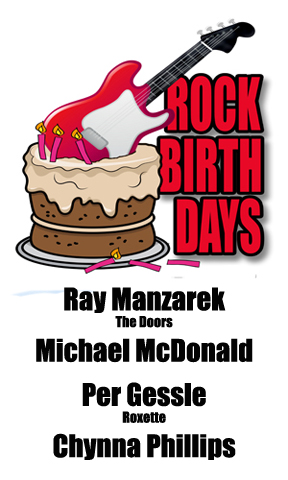 Rock Birthdays – February 12