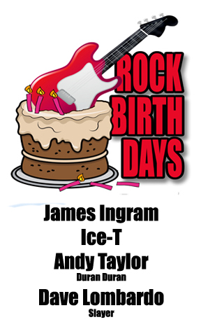 Rock Birthdays – February 16