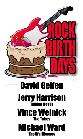 Rock Birthdays – February 21