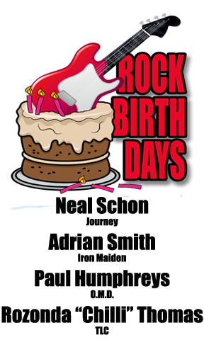 Rock Birthdays – February 27