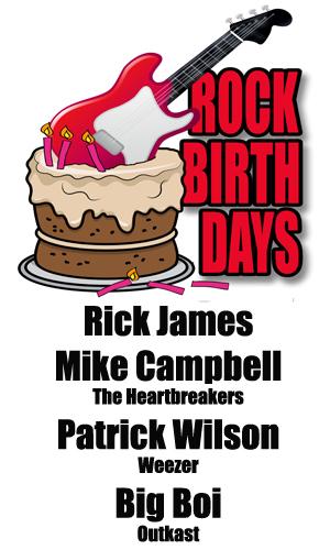 Rock Birthdays – February 1