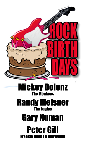 Rock Birthdays – March 8