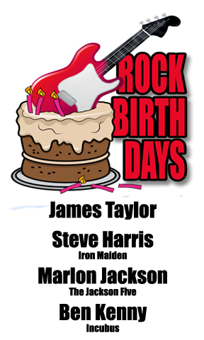 Rock Birthdays – March 12