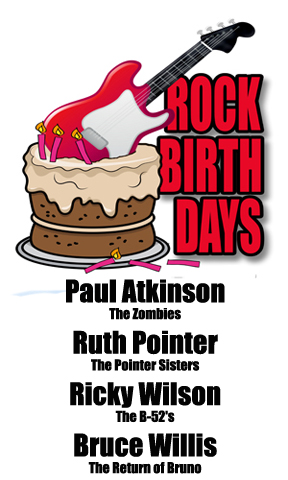 Rock Birthdays – March 19