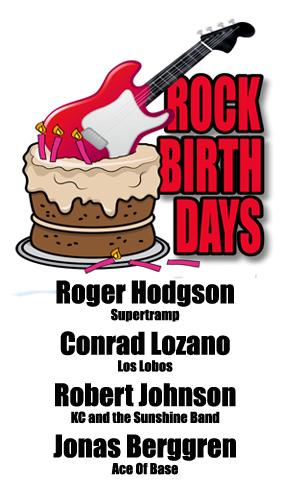 Rock Birthdays – March 21