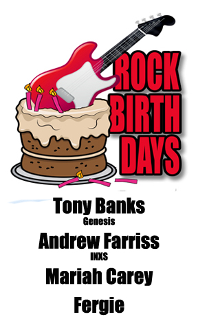 Rock Birthdays: March 27