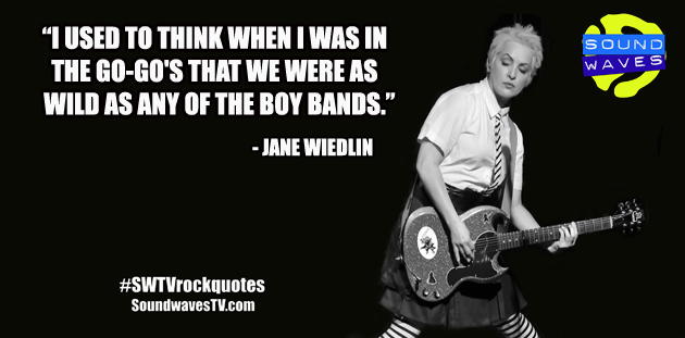 Rock Quotes: Jane Wiedlin