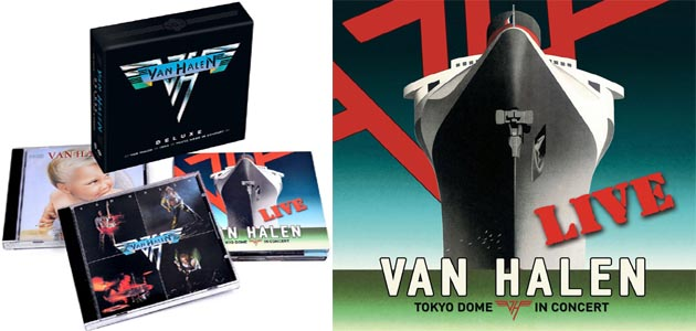 Van Halen to issue Classic Remasters and first Live Album with David Lee Roth