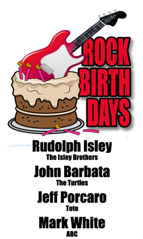 Rock Birthdays: April 1