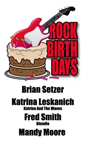 Rock Birthdays: April 10