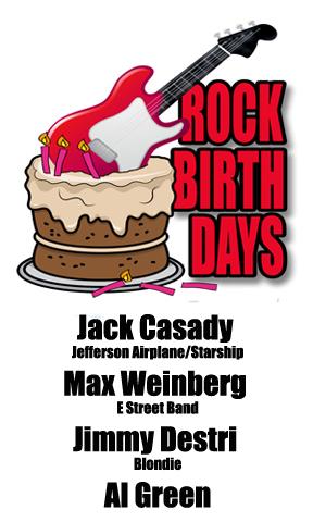 Rock Birthdays: April 13