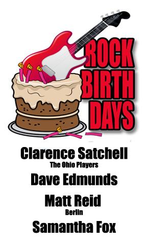 Rock Birthdays: April 15