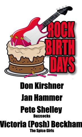 Rock Birthdays: April 17