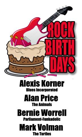 Rock Birthdays: April 19