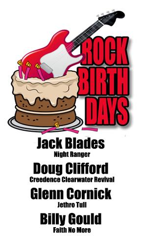 Rock Birthdays – April 24