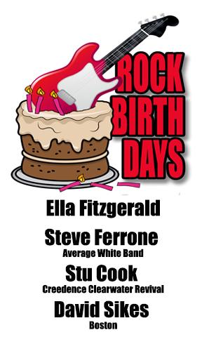 Rock Birthdays – April 25