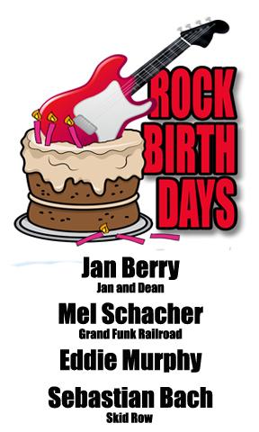 Rock Birthdays: April 3