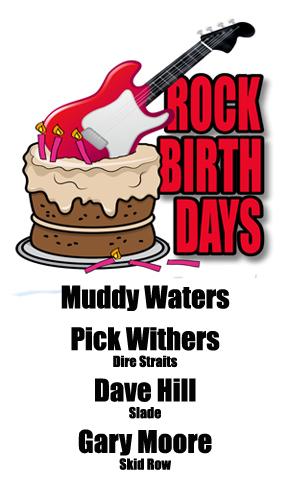 Rock Birthdays: April 4