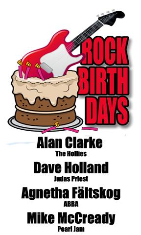 Rock Birthdays: April 5