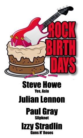 Rock Birthdays: April 8