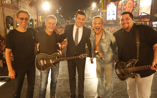 Van Halen performs on Jimmy Kimmel Live and The Ellen DeGeneres Show
