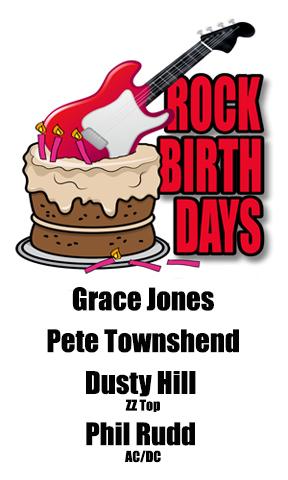 Rock Birthdays – May 19
