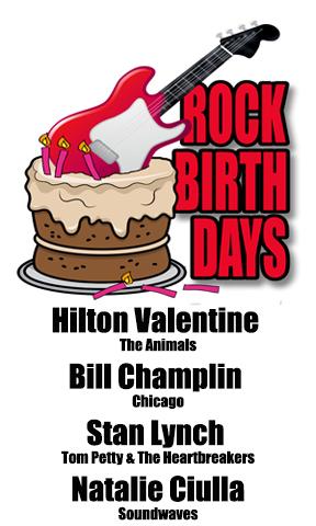 Rock Birthdays – May 21