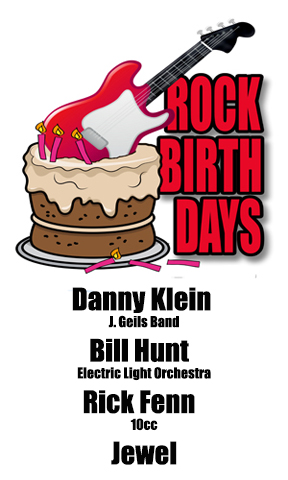 Rock Birthdays – May 23