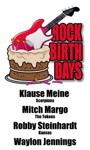 Rock Birthdays – May 25