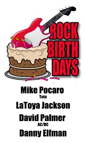 Rock Birthdays – May 29