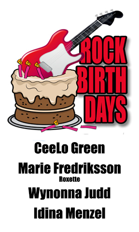 Rock Birthdays – May 30