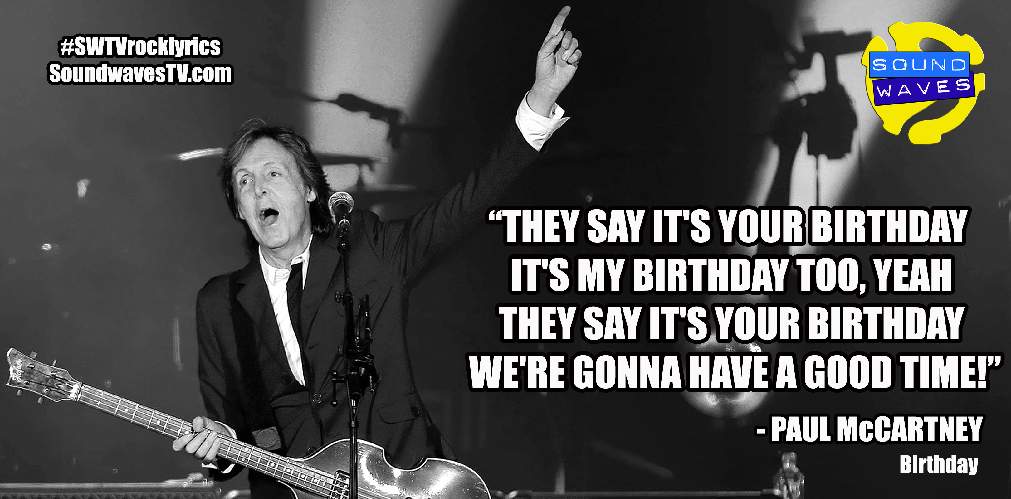 Rock Lyrics: Birthday