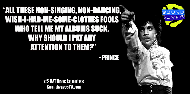 Rock Quotes: Prince